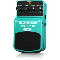 Behringer Pedal Para Guitarra Compressor / Sustai. Pack De 6