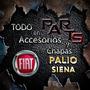 Parrilla Cromada 08 Fiat Palio Siena Y Mas...