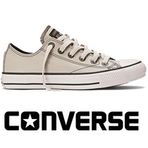 20%off Tênis Converse All-star Couro European Bege Ct328015