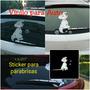 Vinil Auto: Sticker Parabrisas Modelo Dalmata - Lima Norte
