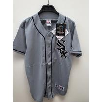 Camisola De Beisbol Equipo Sox Marca Majestic