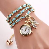 Reloj Pulsera Brazalete Para Mujer Delivery Gratis*