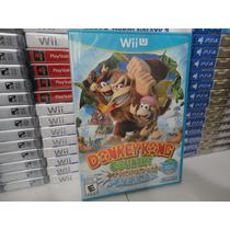 Donkey Kong Country Tropical Freeze Wii U Novo - Lacrado