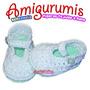Escarpines Zapato Niño Niña Bebe Tejido Crochet