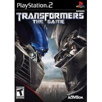 Transformers The Game Ps2 Patch + 2 De Brinde