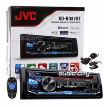 Autoestereo 1 Din Jvc Kd-rd87bt Android Ipod/iphone Bluetoot