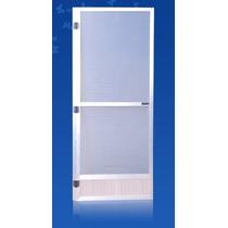 Puerta Mosquitera Aluminio Blanco 084*200