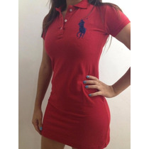 Vestido Polo Ralph Lauren Feminino Pronta Entrega Moda Ofert