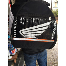 Mochila Porta Casco Moto Honda Alpin Yamah Givi