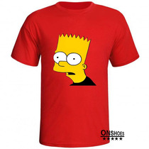 Camisa Bart Simpson Melhor Do Mercado