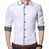 Camisas Entalladas Slim Fit, Moda Coreana 2015