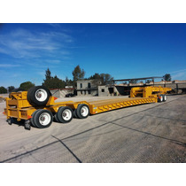 Lowboy Cama Baja 80 Toneladas Desmontable Jeep Dolly