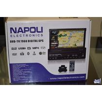 Stereo Napoli 7968 Gps Bluetooh Con Camara Retroceso