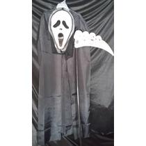 Halloween Disfraz Scream Capa,mascara Guadaña Calavera