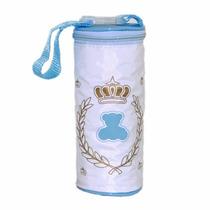 Porta Mamadeira Térmico Simples Lipi Baby Azul Menino