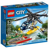 Lego 60067 - Lego City Police - Perseguição De Helicóptero