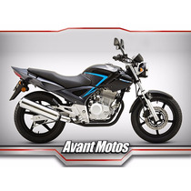 Honda Cbx 250 Twister 0km 2016 Rojo Blanco Negro Avant Motos