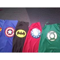 10 Capas De Superheroes Souvenir, Recuerdo, Regalo