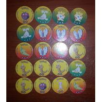 Lote Tazos Pokemon/ Tazos De Carton Mew