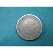 Moneda 1 Pesetas 1947 Star 50, España Km# 775