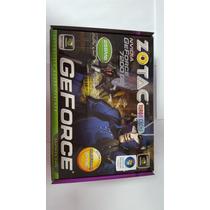 Placa De Video Geforce 7200gs 256mb 64bits Cd Manual Nova