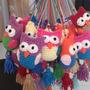 Pajaritos, Tira Decorativa, Suvenirs Crochet Artesanal