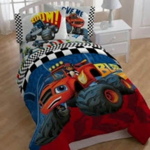Monster Truck Twin Bedding Set.Kids Bedroom Sets Walmart