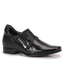 Sapato Social Rafarillo Aumenta Altura Em 7cm Couro Legítimo
