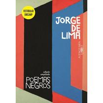 Livro Poemas Negros De Jorge De Lima - Novo