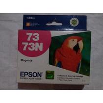 Cartuchos Epson 73n Magenta Rojo Original Vencido