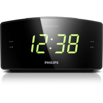 Rádio Relógio Digital Philips Aj3400.