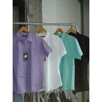 Camisas De Poplin Elastizadas, Dama T L A Xxxl $590