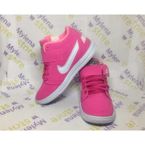 Tênis Botinha Nike Infantil E Bebê Cano Médio 18 A 33 Mulher