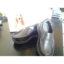 Zapatos Escolares Huss Pupies Talla 27