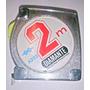 Cinta Metrica Automatica 2mts Diamante Con Freno Y Clip
