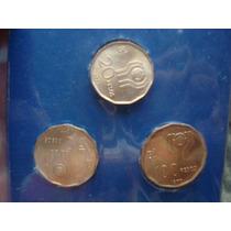 Blister Original Con 3 Monedas Mundial 78 Bronce Sin Circula