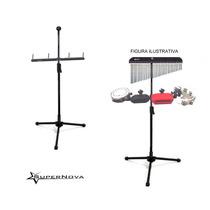 Rack Com Pedestal Para Carrilhão E Percussão C/ 4 Hastes