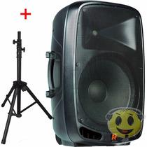 Caixa Ativa Staner 15 Ps 1501 A Bluetooth + Tripe - Kadu Som