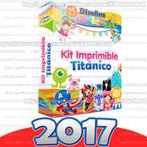 Oferta Nuevo Mega Kit Imprimible Titanico Exclusivo 2017
