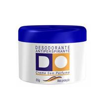 Desodorante D.o Sem Perfume Creme Com 55 Gramas