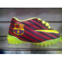 Zapatos Gomas Nike Mercurial Para Niños
