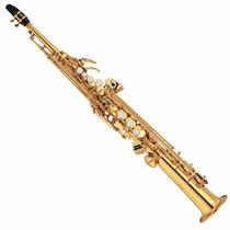 Saxo Soprano Bb Yamaha Yss-475ii Nuevo Con Estuche
