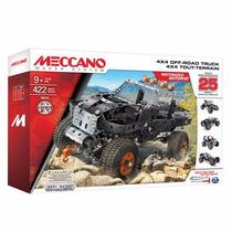 Meccano Set 4x4 Off-road Truck 25 Modelos 443 Piezas Nene
