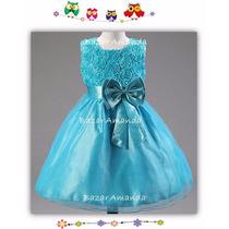 Vestido T12 Fiesta Cumpleaños Paje Matrimonio Graduación