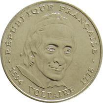 França - 5 Francos 1994 (voltaire)
