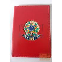 Porta Documentos Funcional Cartão Com Brasão República P02v