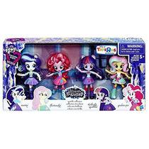Pack 4 Pony Mini Equestria Girls Twilight Pinkie Pie Rarity