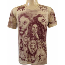 Camiseta Bob Marley Lion