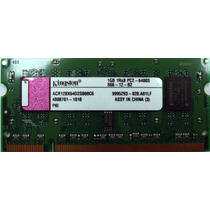 Memoria Kingston Para Notebook Hp Compaq Acr128x64d2s800c6