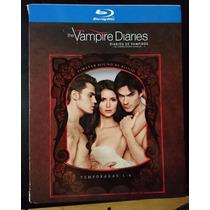 Diario De Vampiros Serie De La 1 A La 4 Enblu Ray